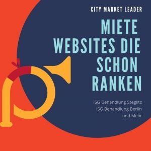 Miete Websites die schon ranken City Market Leader - Physio Berlin